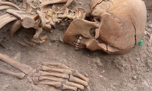 01 Exemplo da diversidade de posições de enterramento